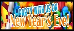 9pm to 2am Family Party -  New Years Party